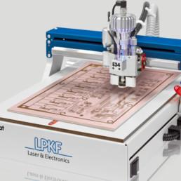 LPKF ProtoMat E34 — плоттер для изготовления печатных плат — LPKF — Специал Электроник и Технологии