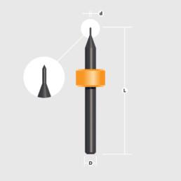 Коническая универсальная фреза LPKF (Universal Cutter) — Оборудование LPKF для печатных плат
