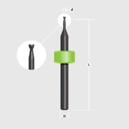 Фреза торцевая Long LPKF (End Mill Long) — Оборудование LPKF для печатных плат